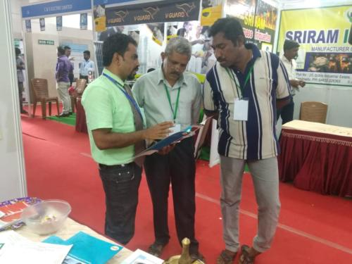 RSSK Participated TIE-2018(3-Days) For Product Pre-Launch Campaign.